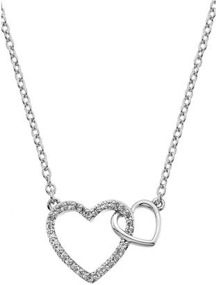Hot Diamonds Sterling Silver Togetherness Open Heart Pendant