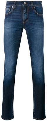 Dolce & Gabbana pineapple tapered jeans