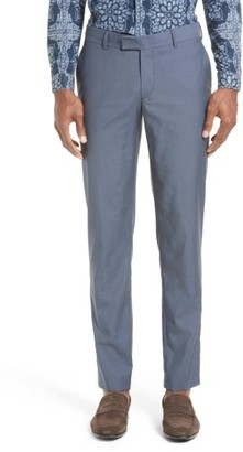 Men's The Kooples After The Rain Wool Tab Waist Pants $275 thestylecure.com