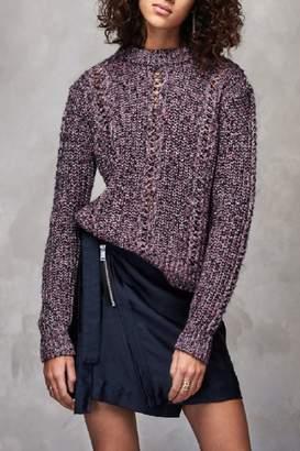 Maison Scotch Multi-Color Crew Sweater