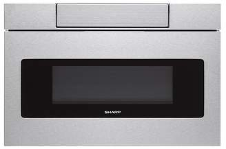Sharp 30 Flat Panel Microwave Drawer in Stainless Steel