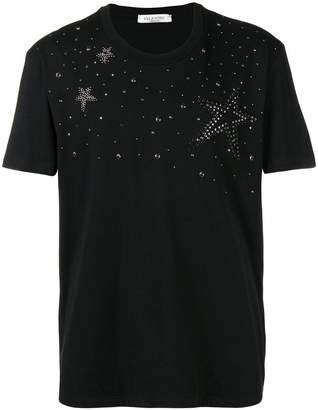 Valentino star studded T-shirt