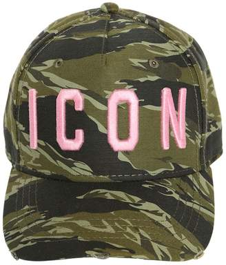 DSQUARED2 Icon Military Baseball Hat