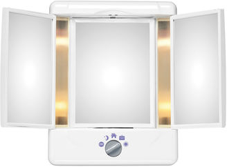 Conair Double-Sided Lighted Makeup Mirror $58 thestylecure.com
