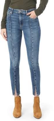 Joe's Jeans Charlie Pintuck High Waist Ankle Skinny Jeans