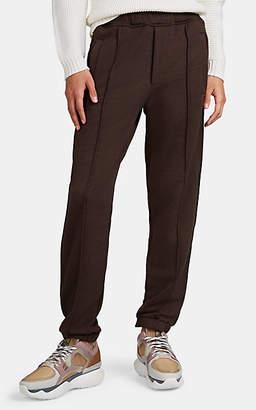 Fendi Men's Logo-Striped Cotton-Blend Fleece Sweatpants - Brown