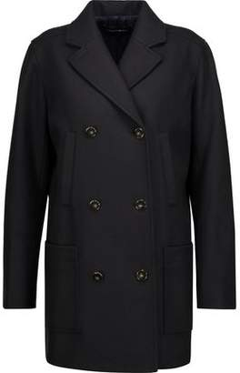 Vanessa Seward Caban Double-Breasted Wool-Blend Felt Coat