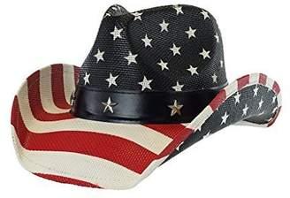 17342323c9e grinderPUNCH Men s Cowboy Hat w  Western Shape-It Brim