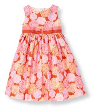 Janie and Jack Ribbon Bow Floral Dress