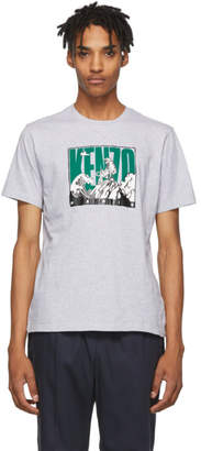 Kenzo Grey Tiger Mountain T-Shirt