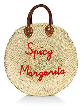Poolside Women's Large Round Spicy Margarita Beach Bag