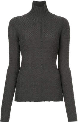 Le Ciel Bleu roll-neck fitted sweater