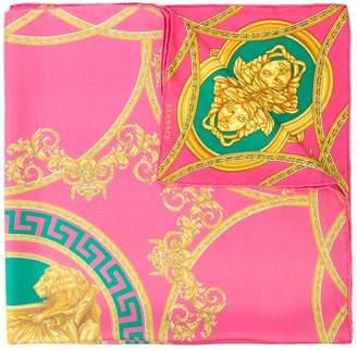 Versace Medusa print foulard