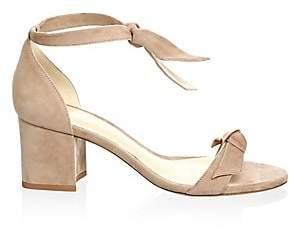Alexandre Birman Women's Clarita Suede Ankle-Tie Sandals