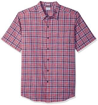 Columbia Men's Under Exposure Big & Tall Yarn Dye Short Sleeve Shirt