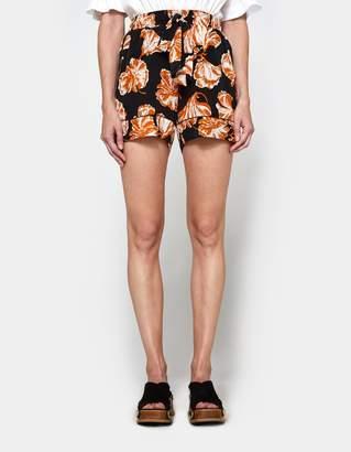 Ganni Geroux Silk Shorts