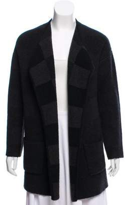 Theory Wool-Blend Open Front Cardigan
