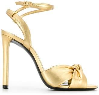 Saint Laurent slingback sandals