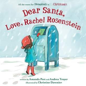 "Penguin Random House Dear Santa, Love, Rachel Rosenstein"" Book"