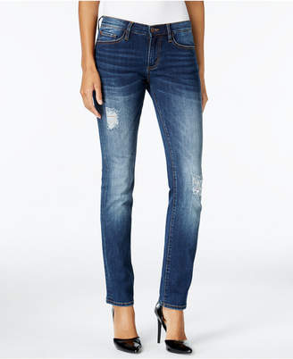 Buffalo David Bitton Faith Straight-Leg Jeans $79 thestylecure.com