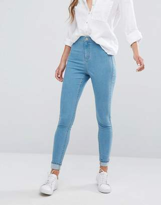 Miss Selfridge High Waist Skinny Jeans