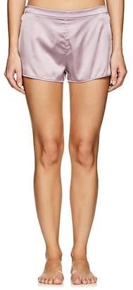 Fleur Du Mal Women's Silk Satin Shorts