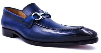 MAISON FORTE Seville Leather Bit Loafer