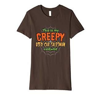 Creepy Used Car Salesman Costume Halloween T-Shirt