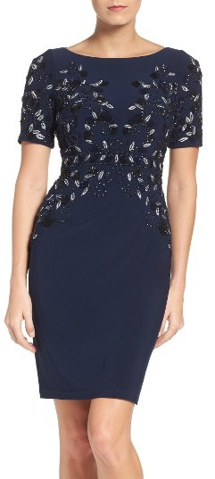Adrianna PapellWomen's Adrianna Papell Embellished Cocktail Dress