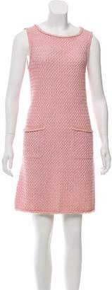 Chanel 2017 Sleeveless Knit Dress