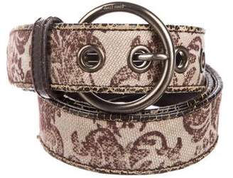Miu Miu Woven Printed Belt