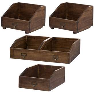 A&B Home Amell Storage Boxes, Set of 4