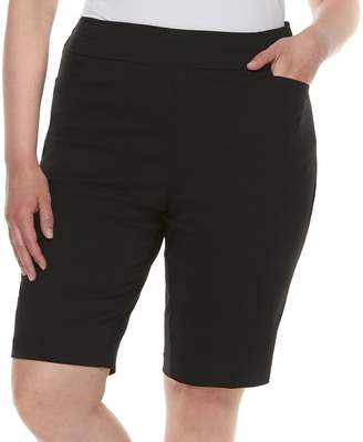 Apt. 9 Plus Size Bermuda Midrise Shorts