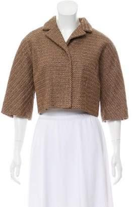 Dolce & Gabbana Crop Woven Jacket