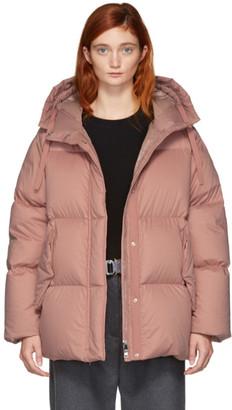 Moncler Pink Down Nerium Jacket