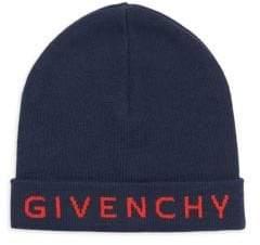 Givenchy Wool Logo Beanie