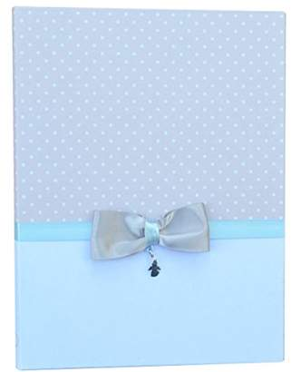 Mamamour 203Â CZ18Â Baby Blue Photo Album with Pendant in Silver 925
