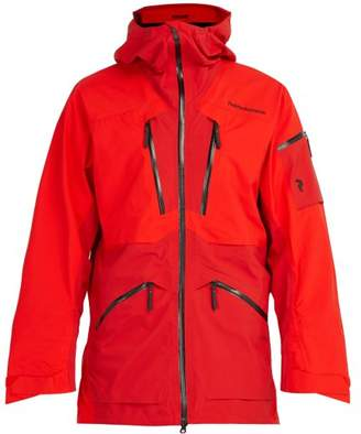 Peak Performance Vertical Goretex Ski Jacket - Mens - Red