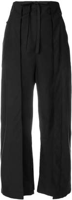 Aalto wide leg cropped trousers