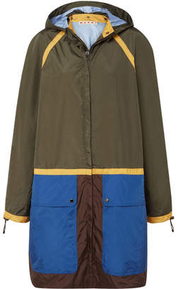 Marni Color-block Shell Jacket - Green
