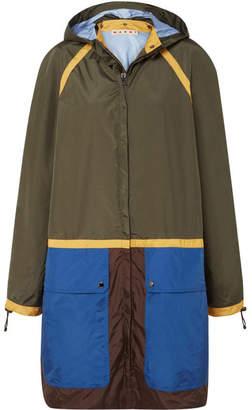 Marni Color-block Shell Jacket - Green