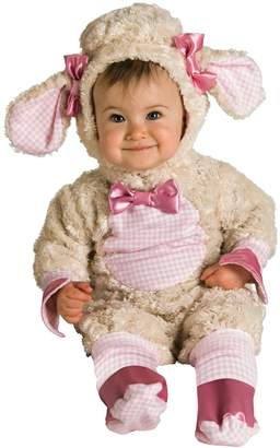 Rubie's Costume Co Costume Baby-girls Infant Noah Ark Collection Lucky Lil Lamb Costume