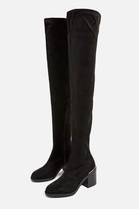 Topshop Bailey High Leg Unit Boots