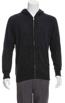 Fendi Cashmere-Blend Hooded Sweatshirt