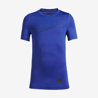Nike Pro Older Kids'(Boys') Short-Sleeve Training Top