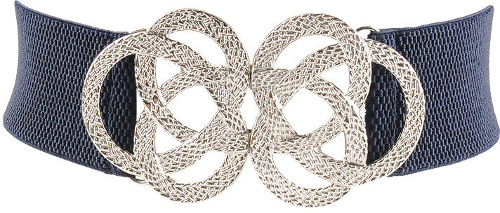 Grooved Rings Elastic Belt