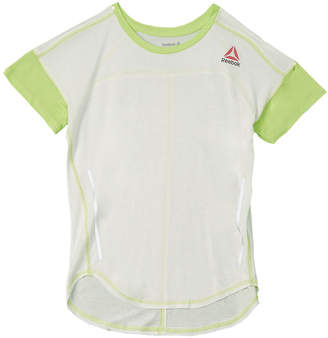 e9c6374171e Reebok Girls  Dropped-Shoulder T-Shirt
