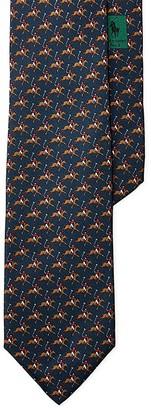 Polo Ralph Lauren Polo Player Silk Twill Skinny Tie $98.50 thestylecure.com