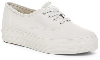 Keds Triple Mono Platform Sneaker $55 thestylecure.com