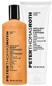 Peter Thomas Roth Mega-Rich Body Cleanser and L